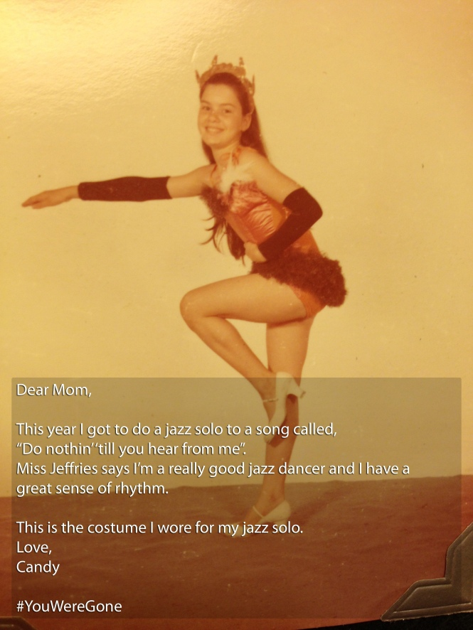 DEAR MOM...Jazz Dancer