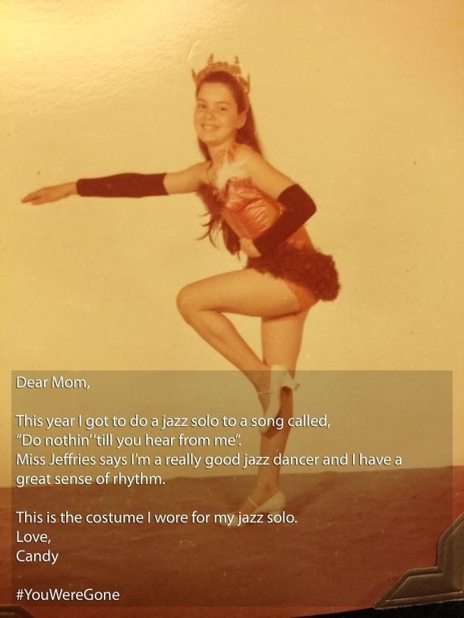 DEAR MOM...Jazz Dancer
