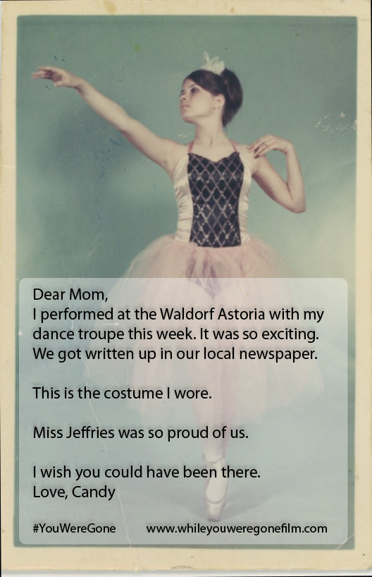 DEAR MOM bag lady and ballet