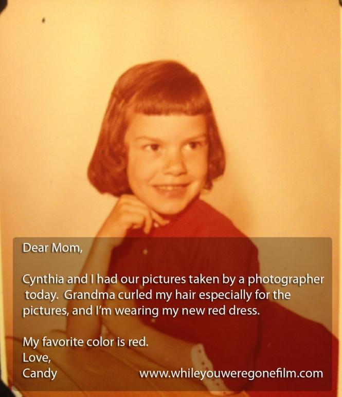 KS DEAR MOM9 red dress