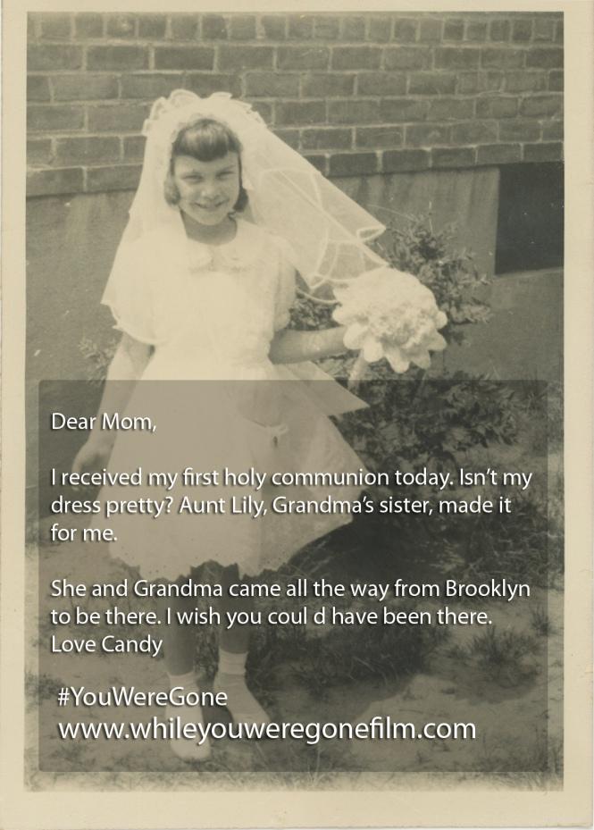DEAR MOM COMMUNION